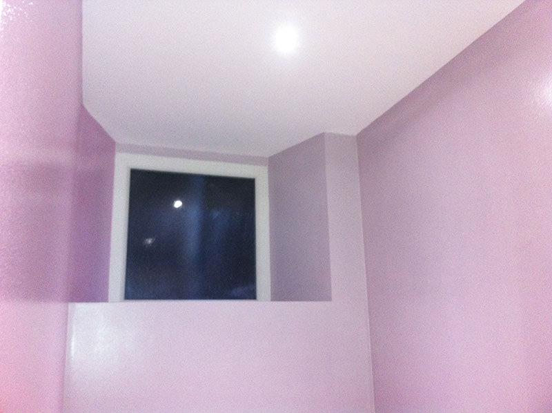 Rénovation d'une ancienne boulangerie en appartement Isolation BA13 et mise en peinture