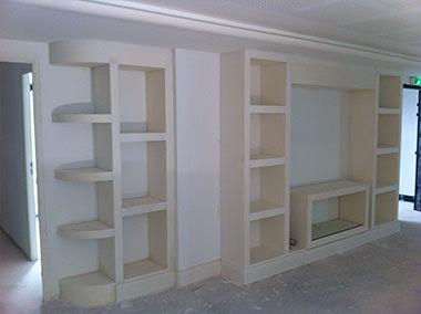 meuble tv et bibliothèque design