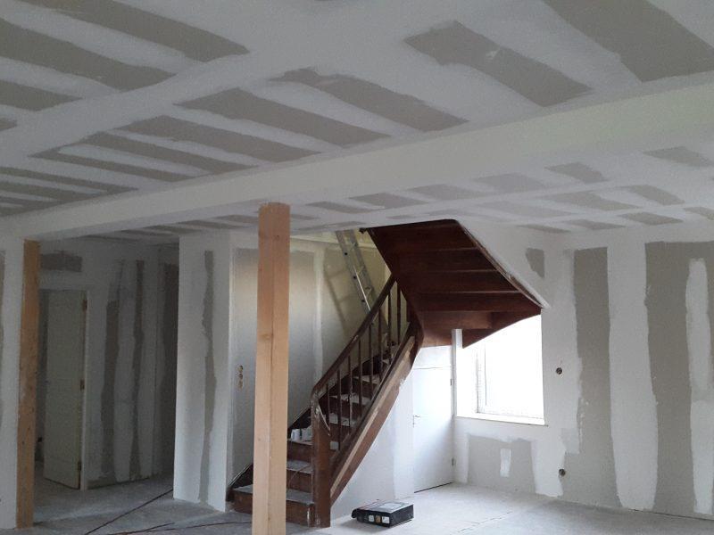 Démolition puis reconstruction complète d'un logement de 180 m² en Duplex